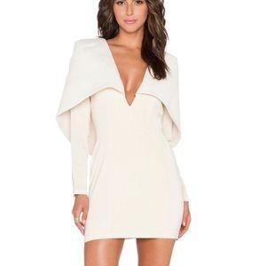 Asilio Two Tone Cape Dress